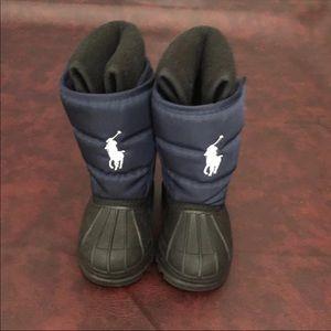 Ralph Lauren snow boots